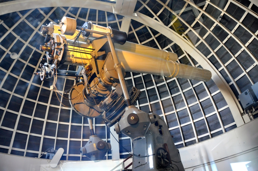 griffith observatory telescope