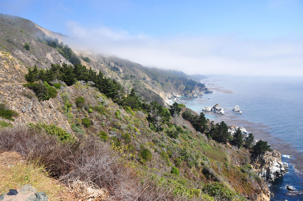 big sur landscape road trip